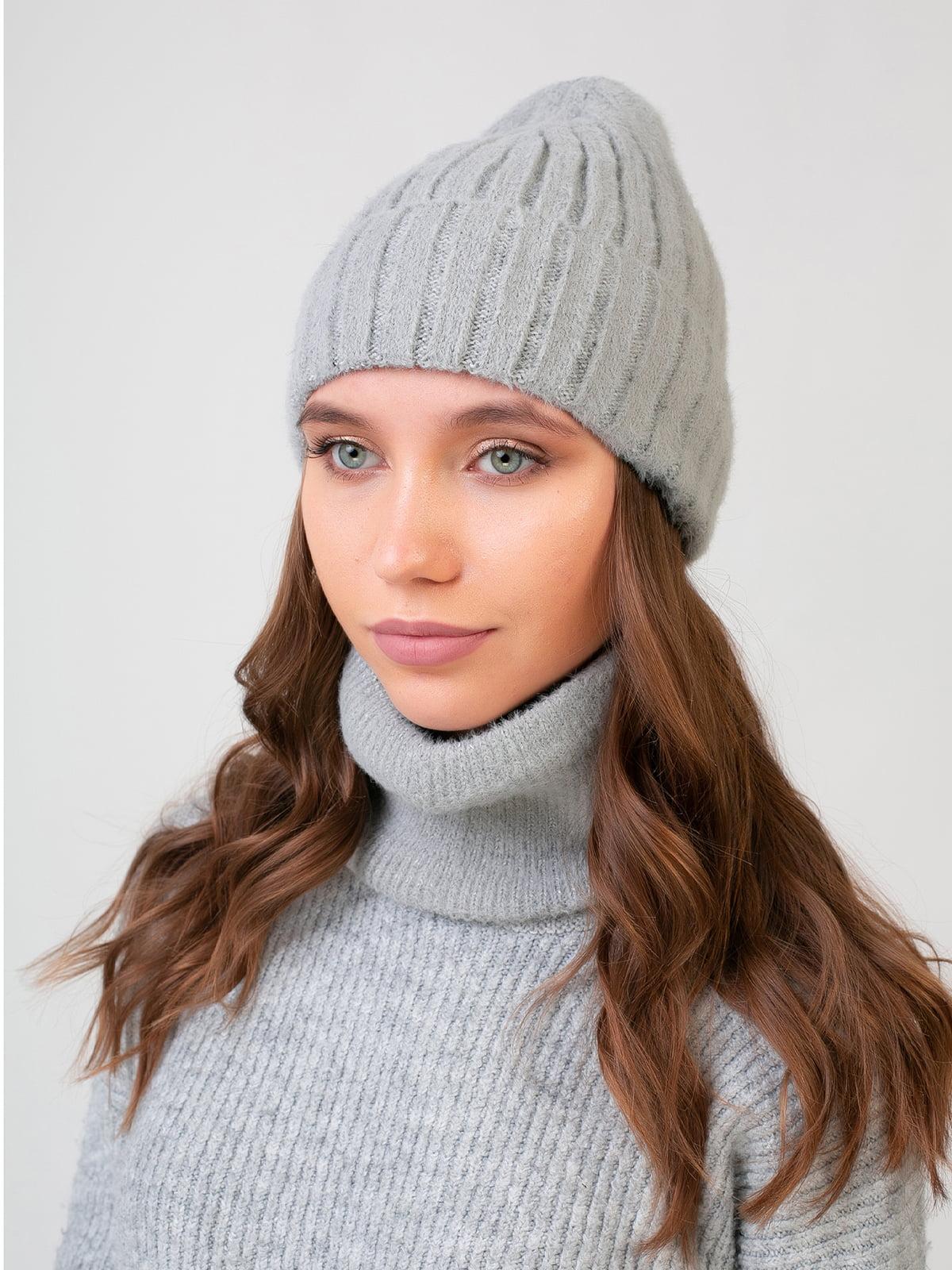 Комплект: шапка и шарф-снуд | 5541135