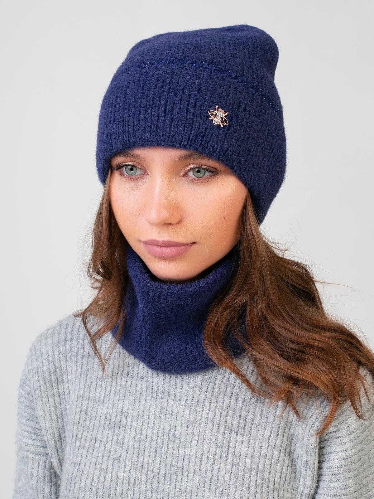 Комплект: шапка и шарф-снуд   5541112