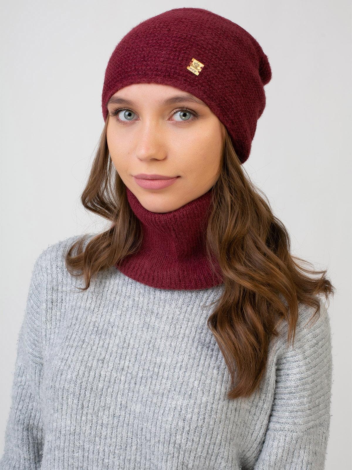 Комплект: шапка и шарф-снуд   5541128