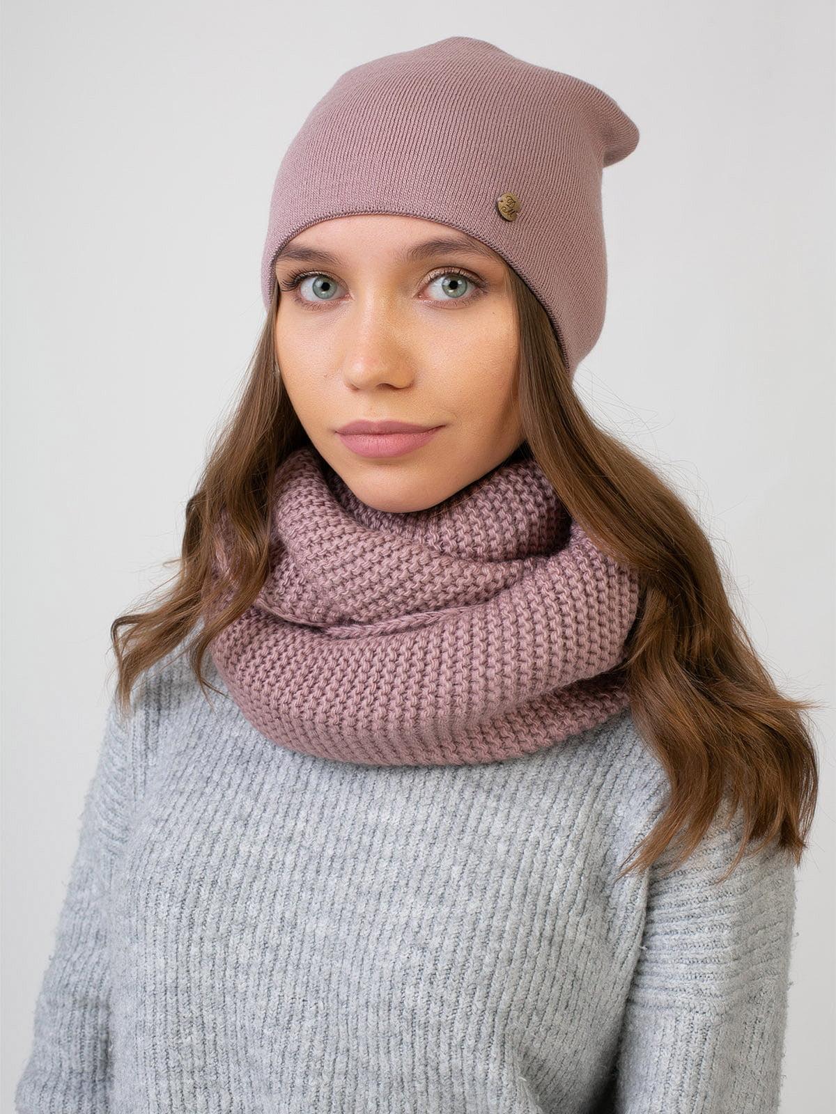 Комплект: шапка и шарф-снуд | 5541086