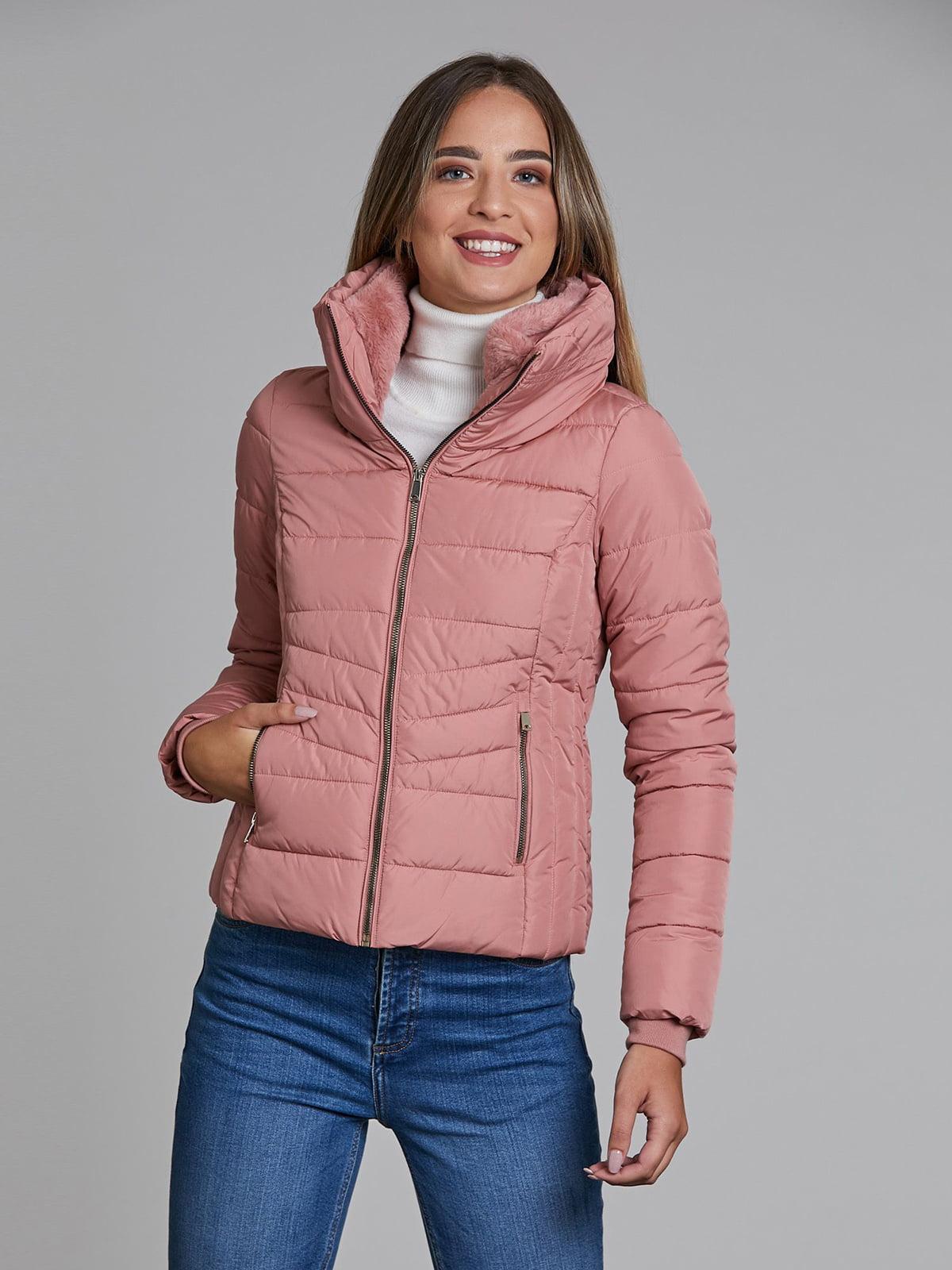 Куртка пудрового цвета   5547261