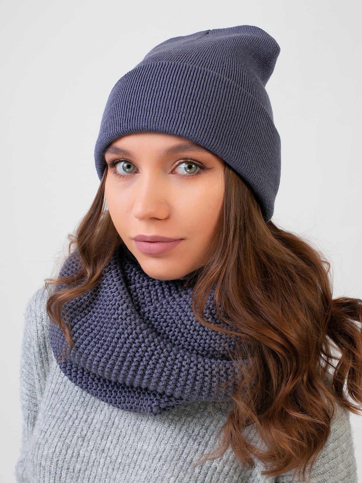Комплект: шапка и шарф-снуд | 5547720