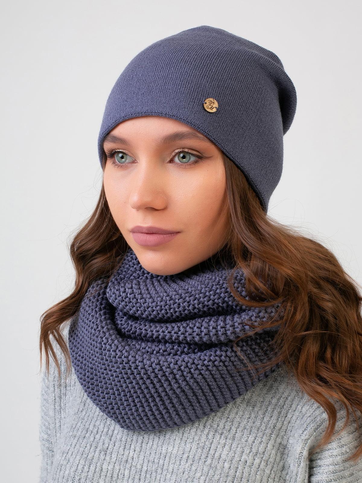 Комплект: шапка і шарф-снуд | 5547719