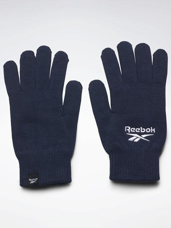 Рукавички темно-сині з логотипом | 5536663