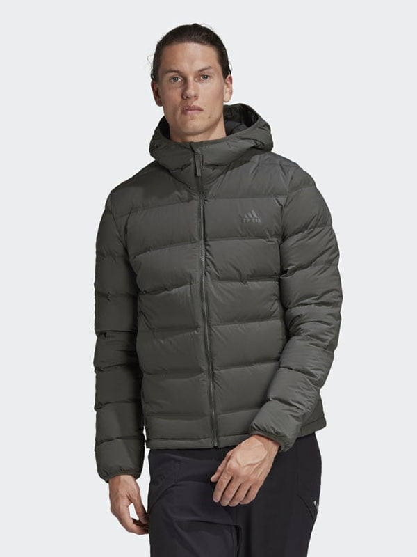 Куртка-пуховик цвета хаки   5548453