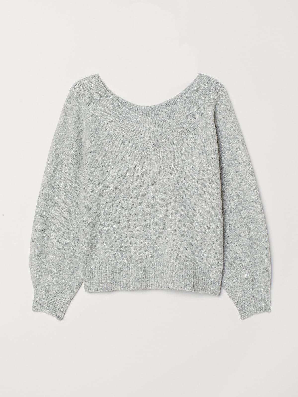 Джемпер серый | 5527441