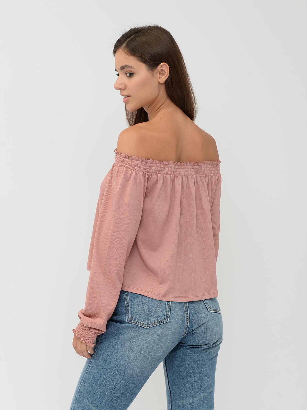 Блуза розовая | 5551623