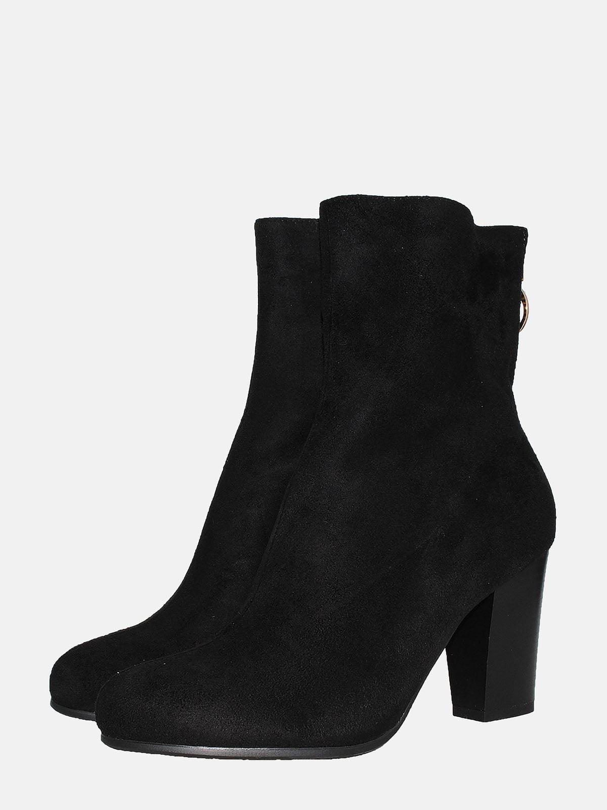 Ботинки черные   5550711