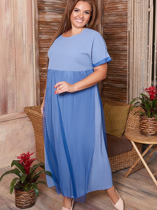 Сукня кольору електрик | 5560529
