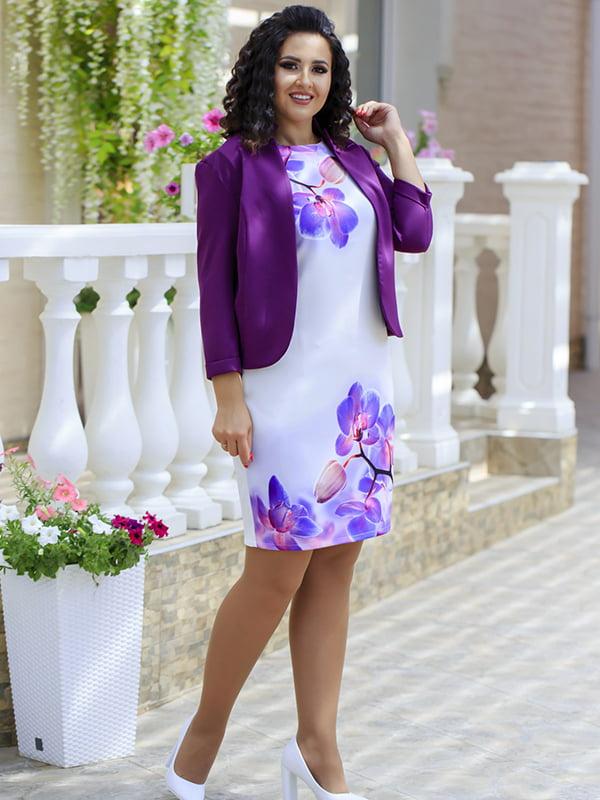 Костюм: сукня і жакет | 5560672