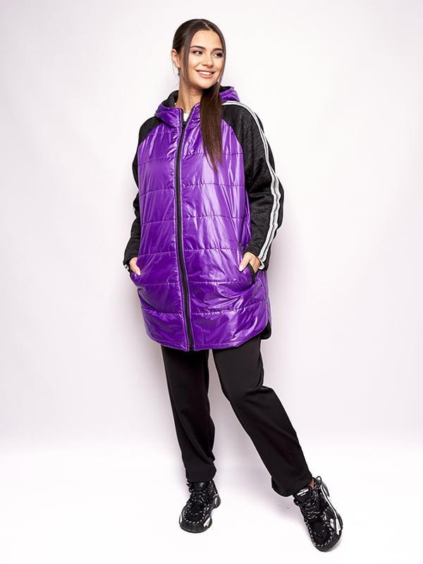 Куртка фіолетова | 5560844