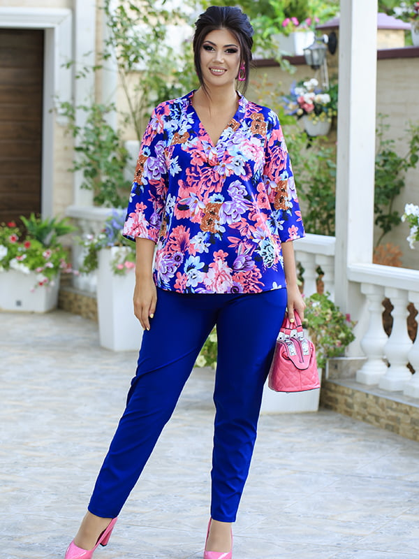 Костюм: блуза і штани   5560911