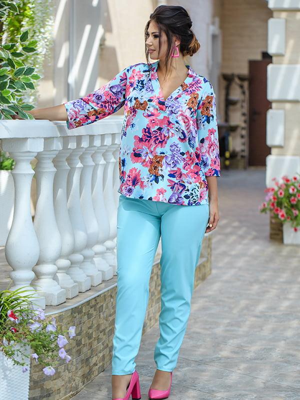 Костюм: блуза и брюки | 5560915