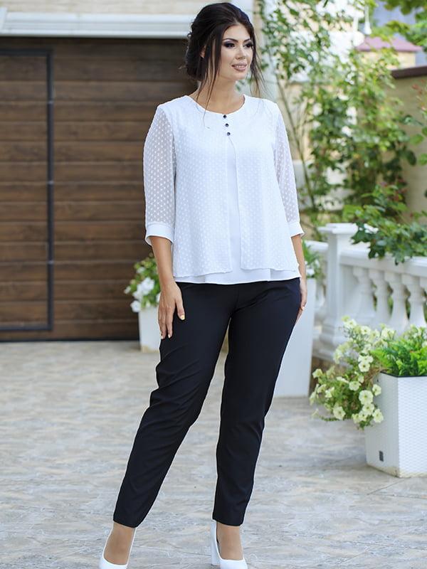 Костюм: блуза и брюки | 5560921