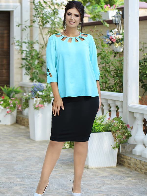 Костюм: блуза и юбка | 5560941
