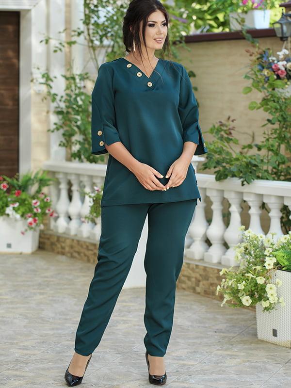 Костюм: блуза і штани | 5560985