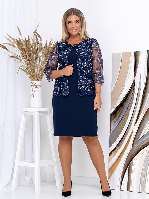 Комплект: платье и накидка | 5560971