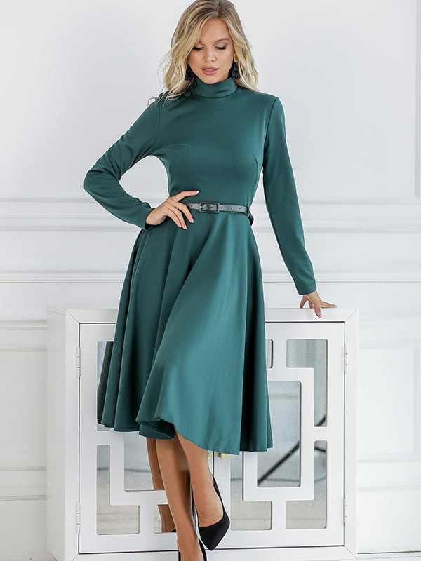 Платье изумрудного цвета | 5561057