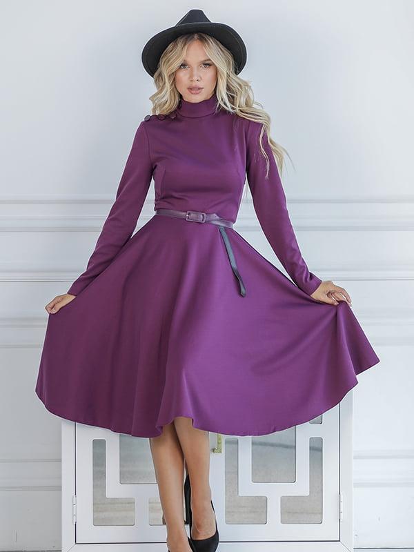 Платье фиолетовое | 5561058