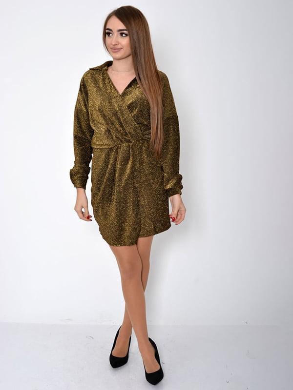 Платье золотистого цвета   5323069