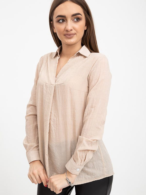 Блуза бежевая   5553625