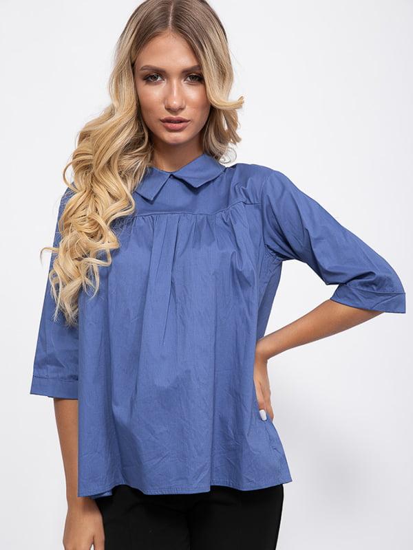 Блуза цвета джинс   5553710