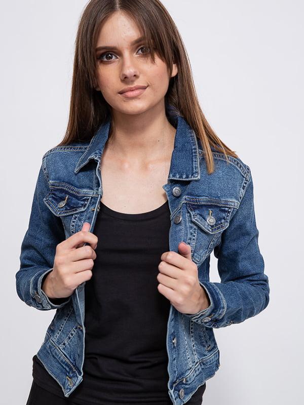 Куртка джинсовая синяя | 5554036
