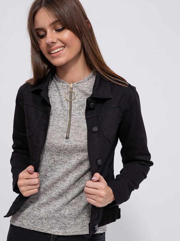 Куртка джинсовая черная | 5554037
