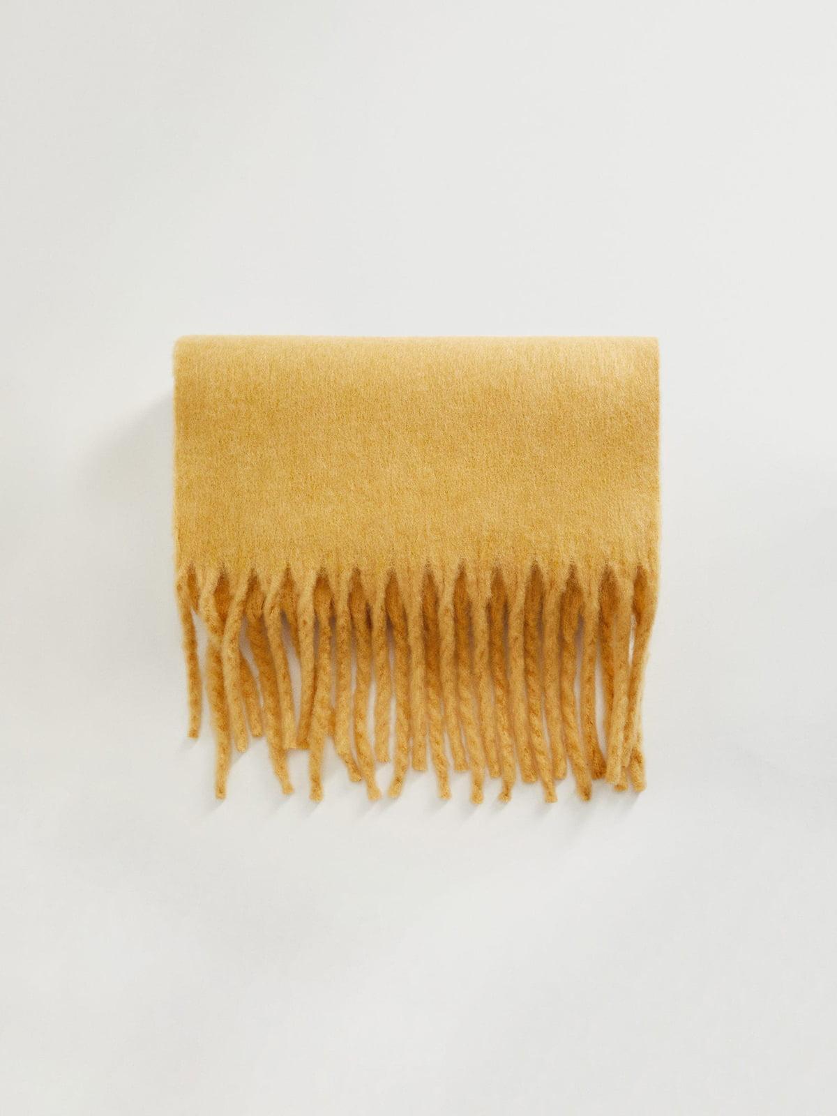 Шарф желтый   5561411