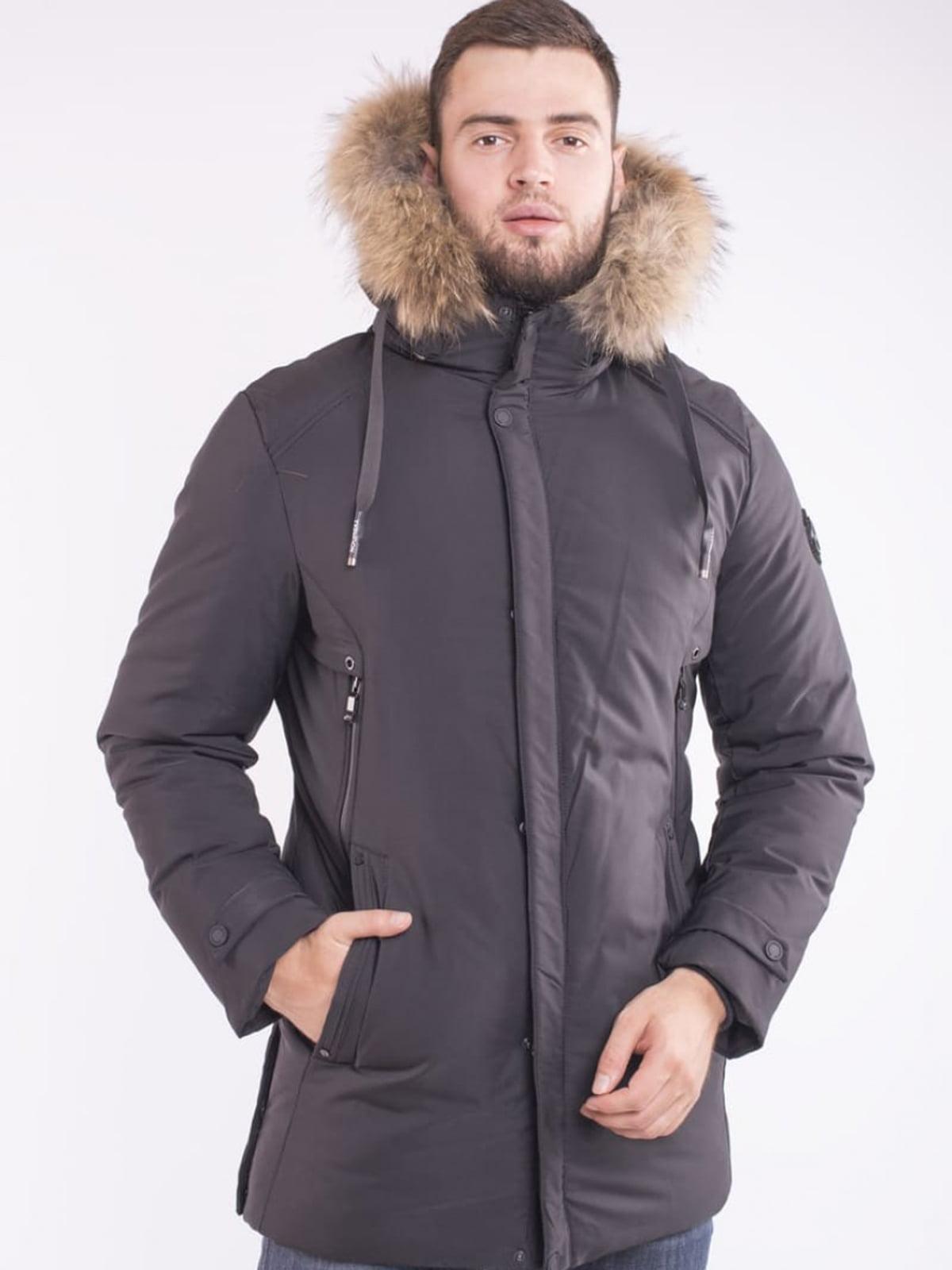 Куртка чорна | 5563349