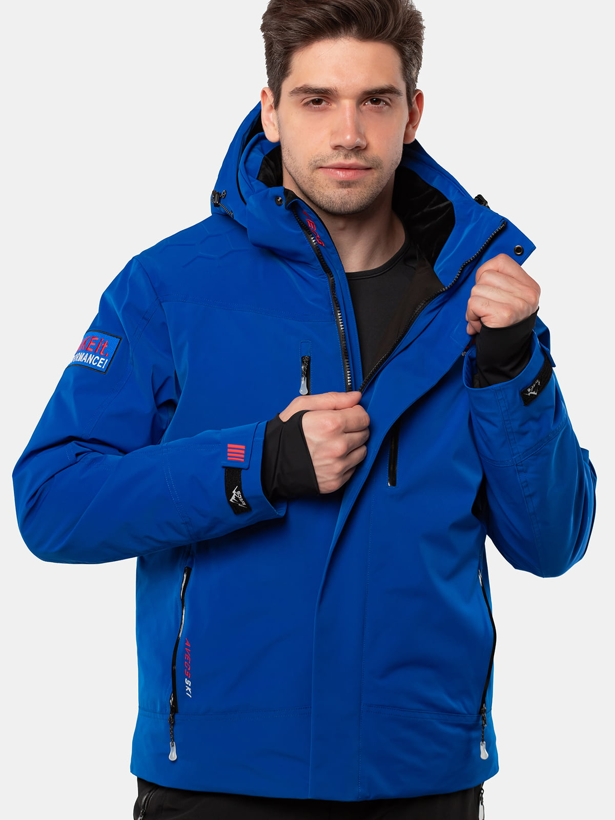 Куртка кольору електрик | 5563332