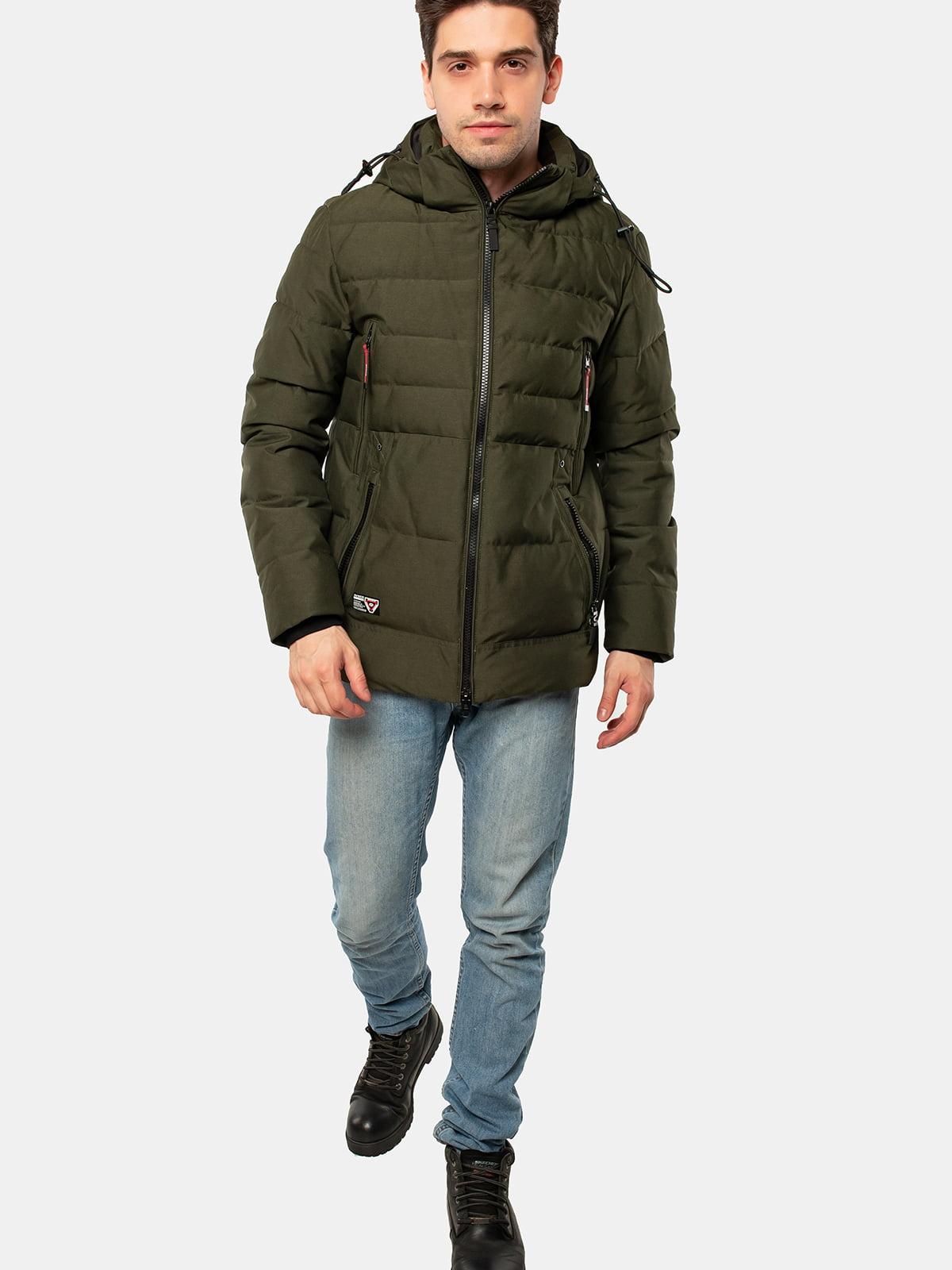 Куртка темно-зелена | 5563344