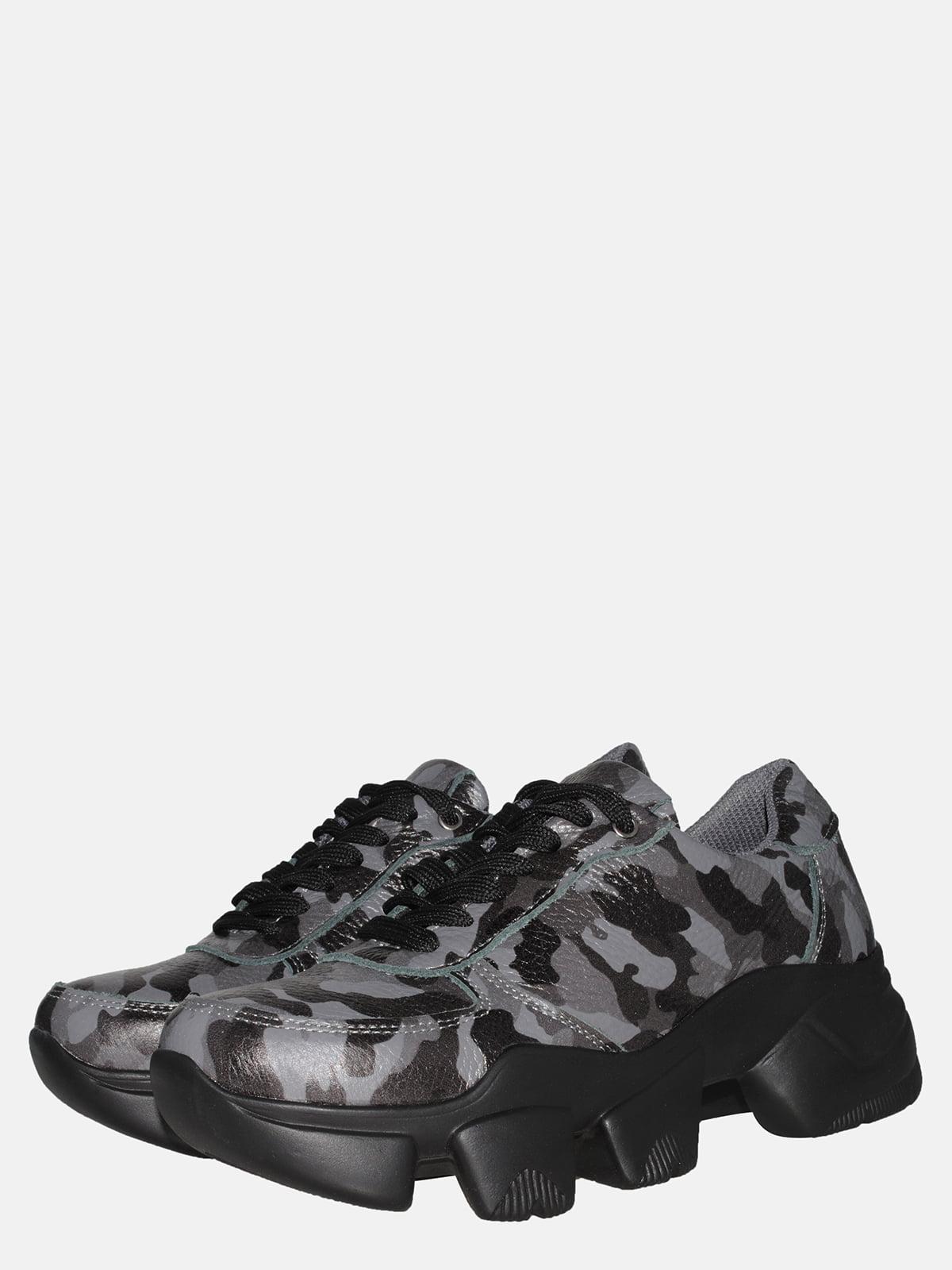 Кросівки сірі в камуфляжний принт | 5552787