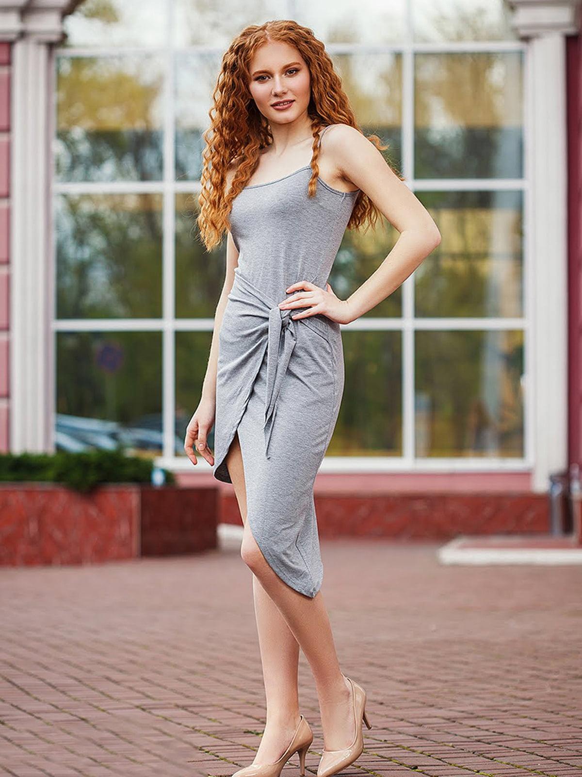 Платье серое | 5564299
