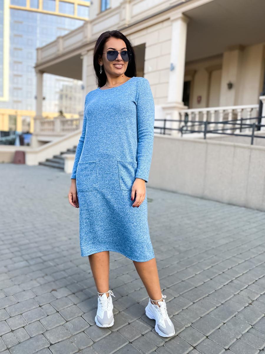 Платье голубое | 5564526
