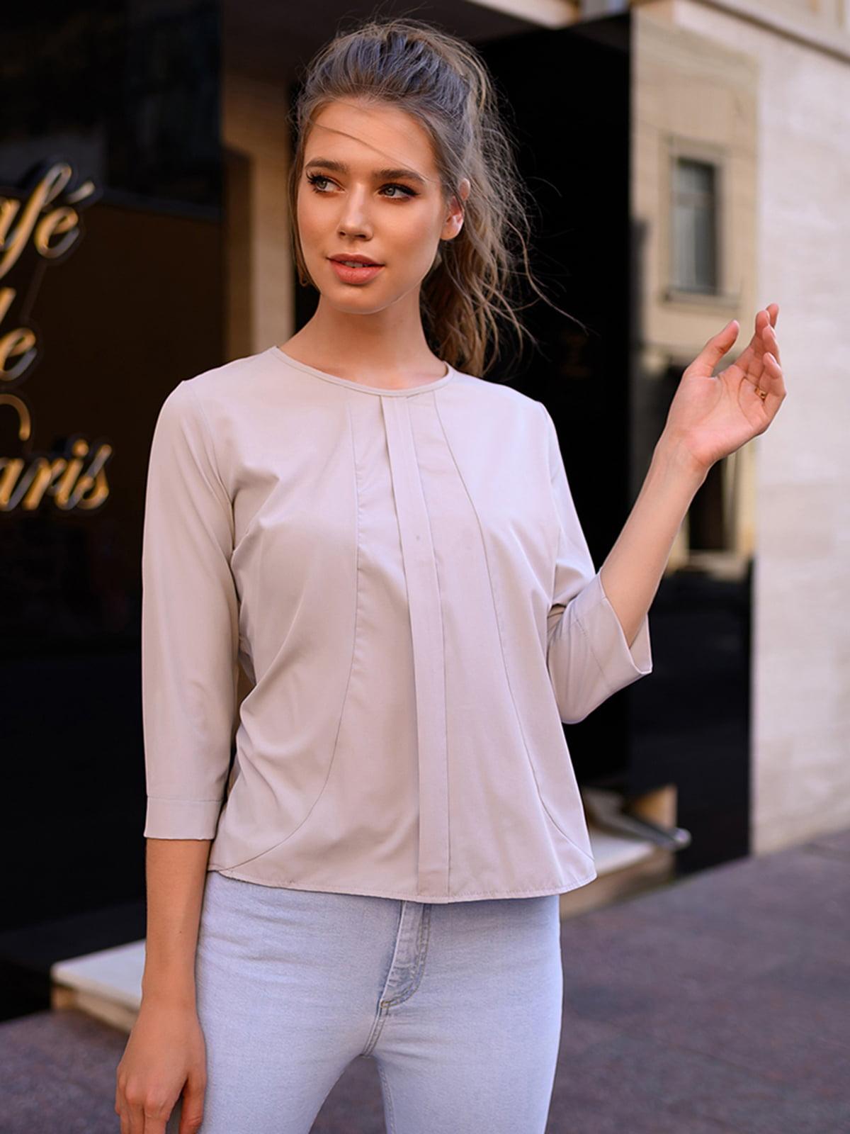 Блуза світло-сіра | 5564532