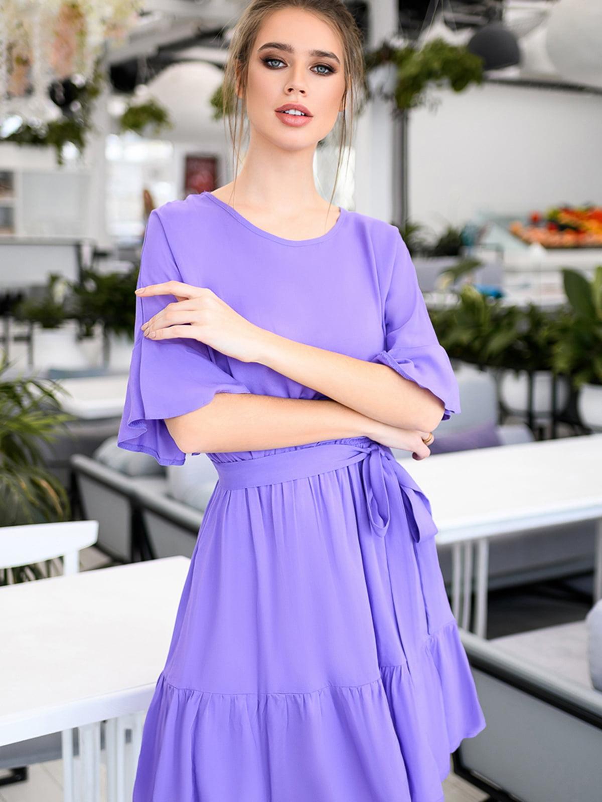 Платье лавандового цвета | 5564535