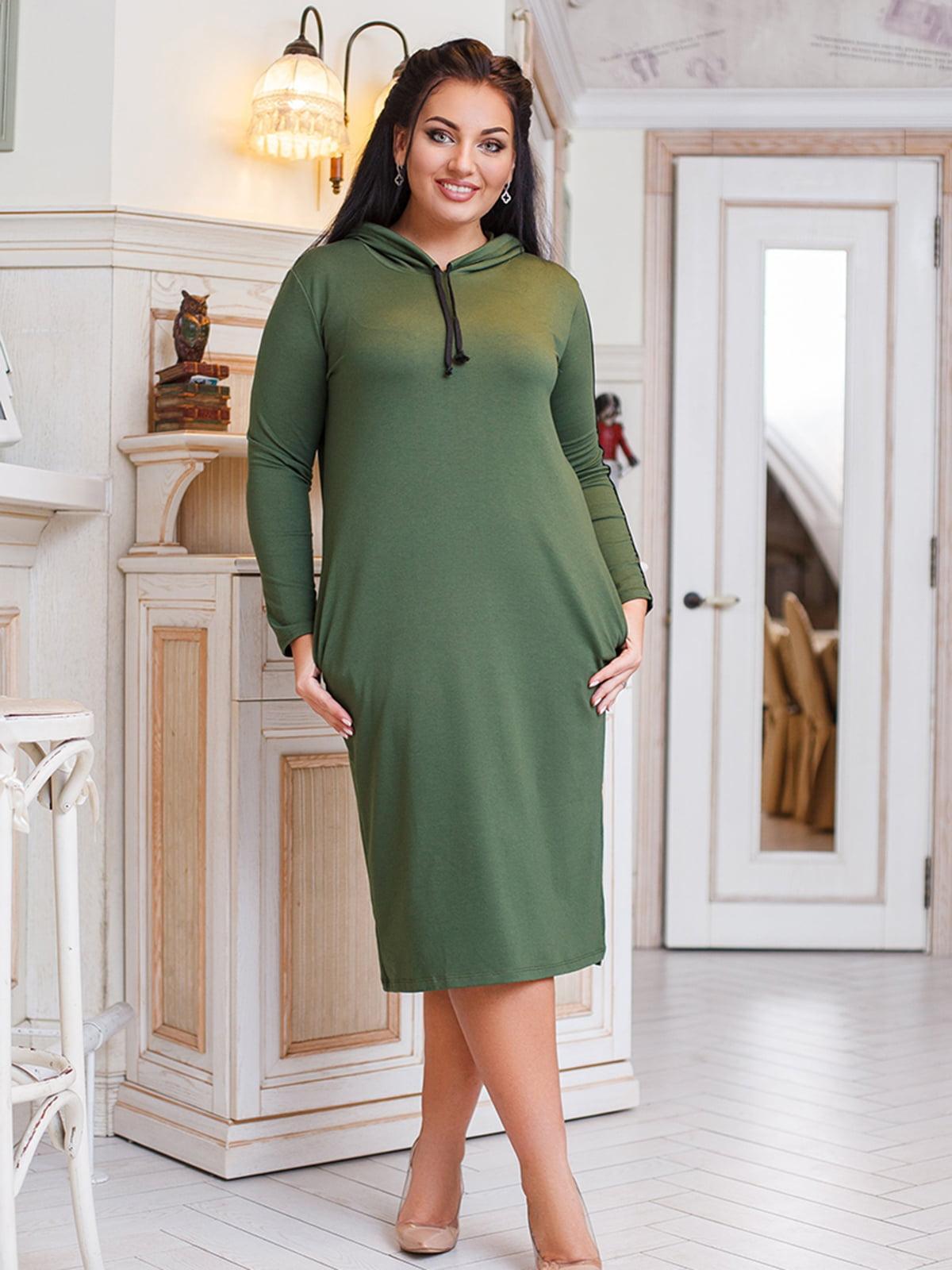 Платье цвета хаки | 5564328