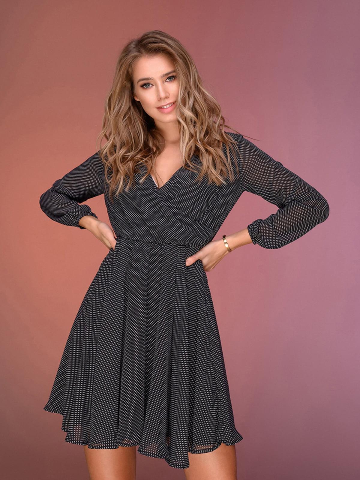 Платье черное   5564383