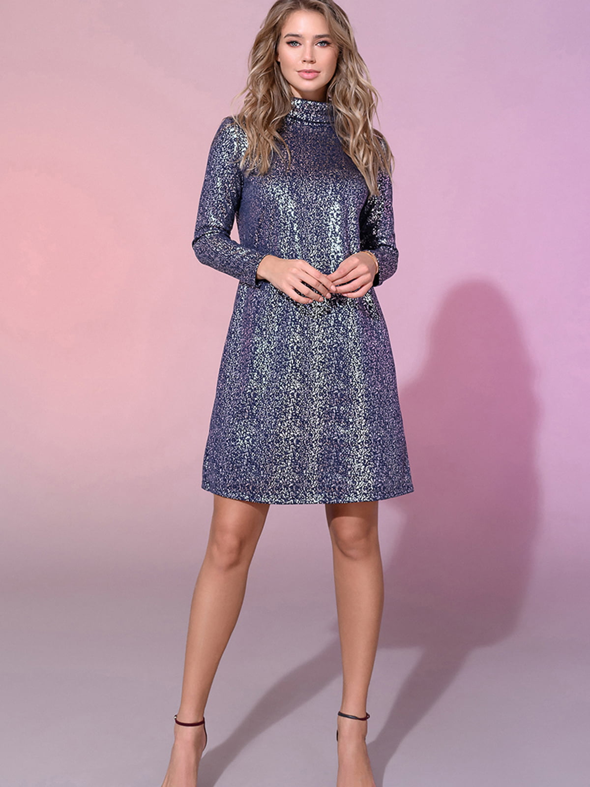 Платье синее | 5564389