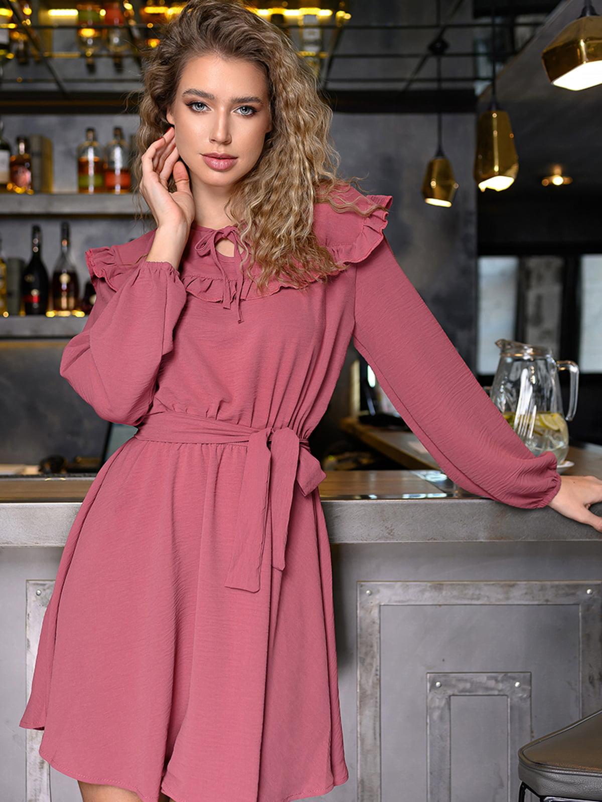 Платье светло-бордовое | 5564408