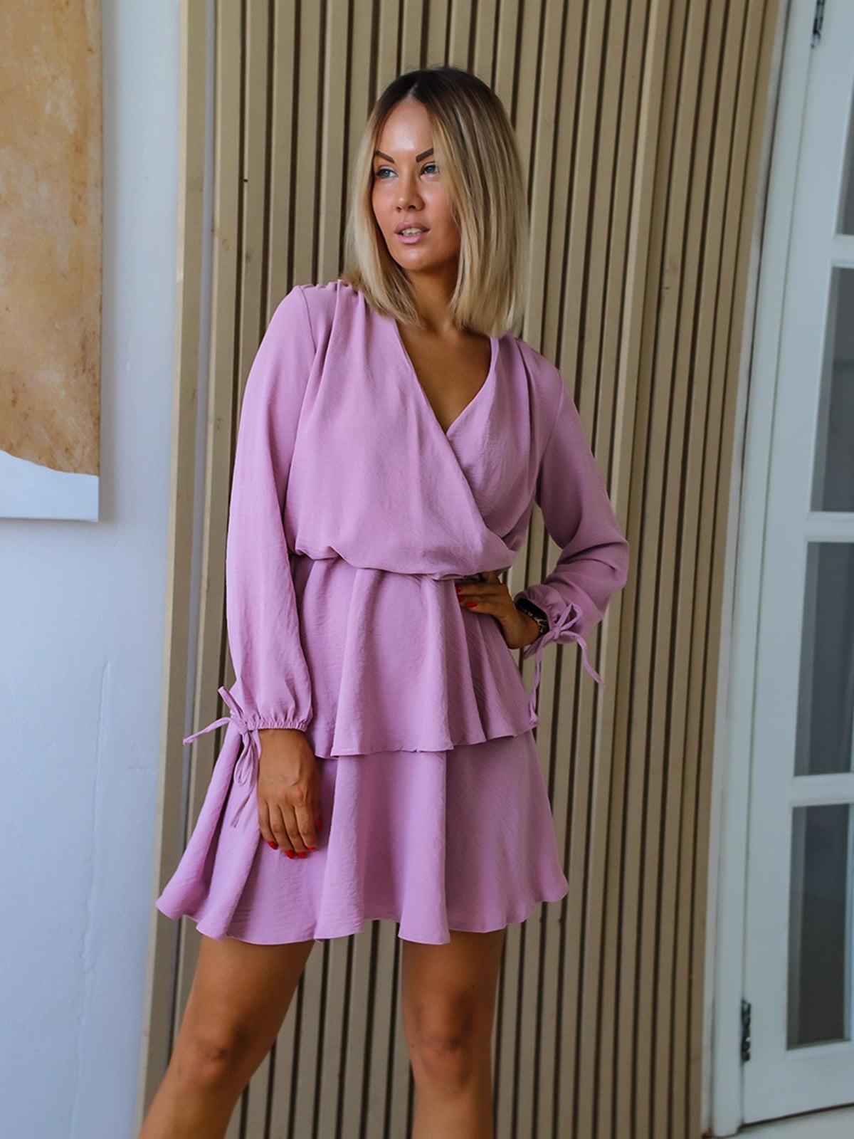 Платье цвета пудры | 5564435