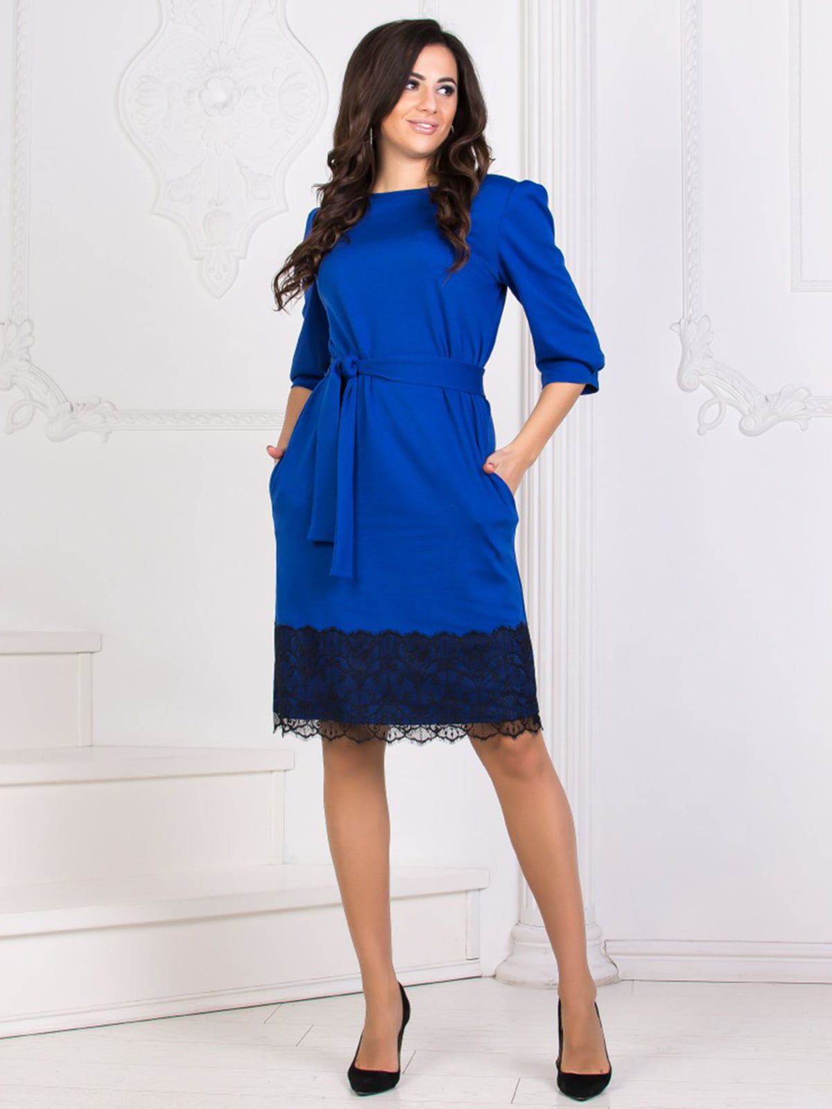 Платье цвета электрик | 5564587