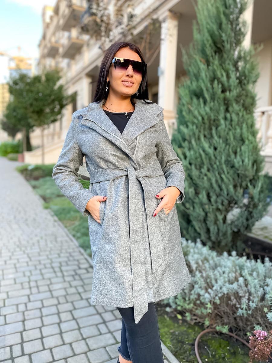 Пальто сіре | 5564605