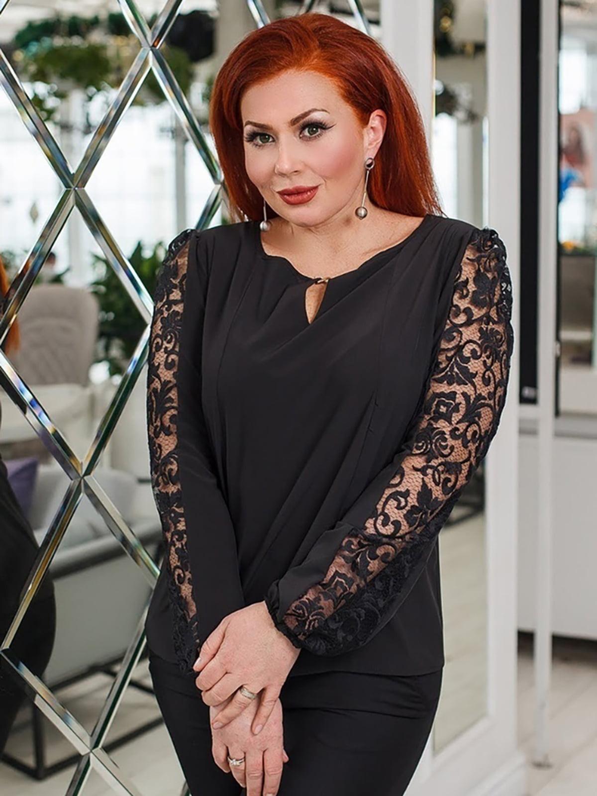 Блуза черная | 5564616