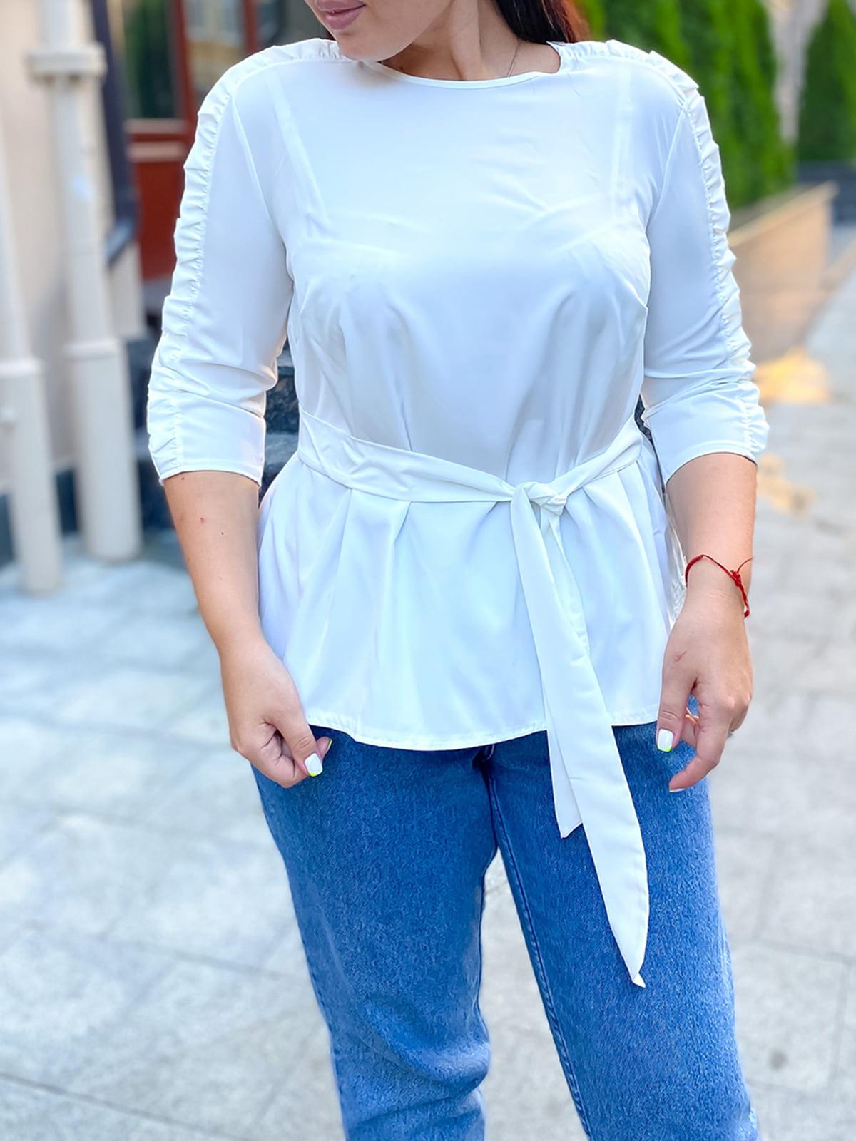 Блуза белая | 5564618