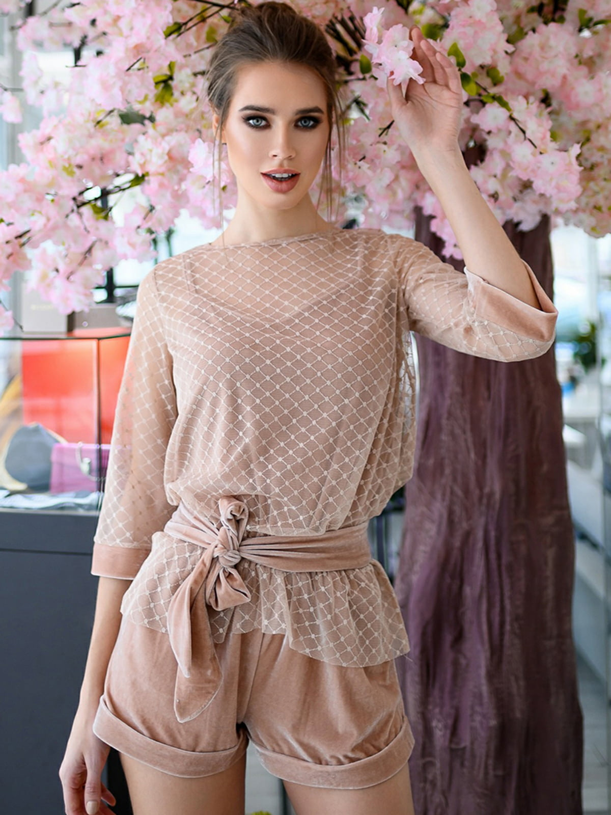 Комплект: комбинезон и блуза | 5564634