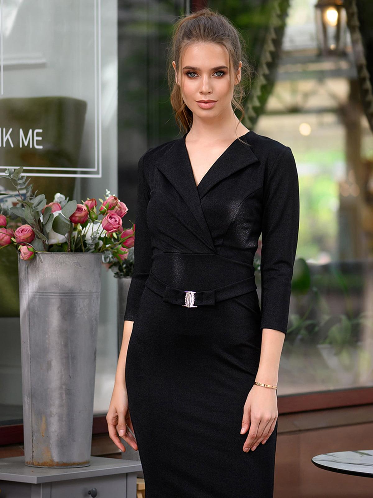 Платье черное | 5564638