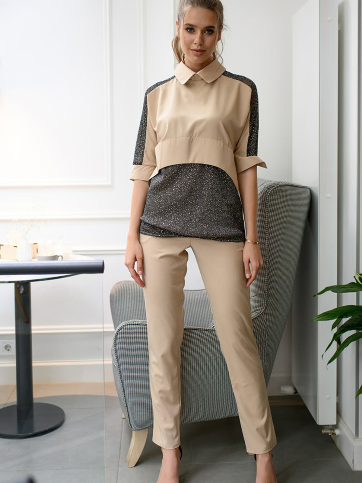 Комплект: блуза і штани | 5564641