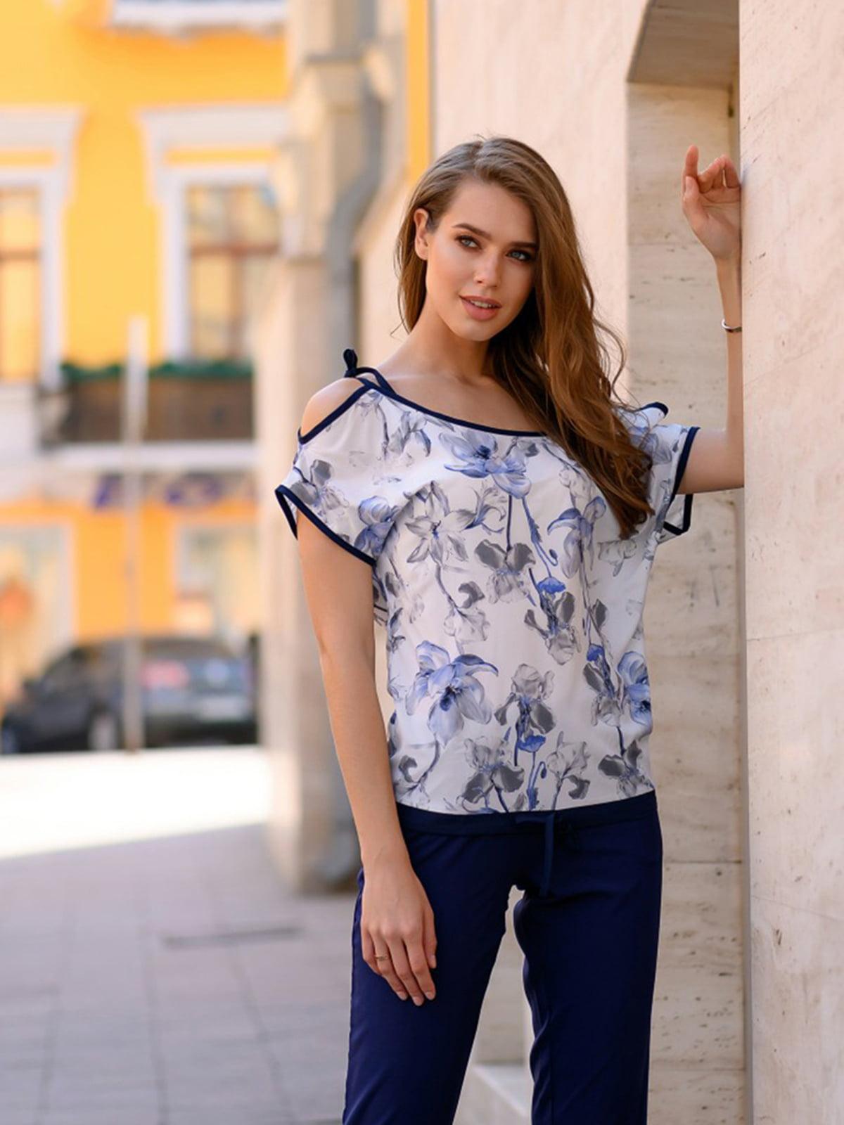 Комплект: блуза и брюки | 5564663